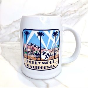 Vintage 1989 Hollywood Mug from Universal Studios